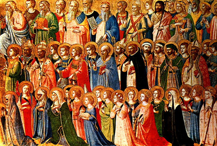ALL SAINTS: LIST OF POPES