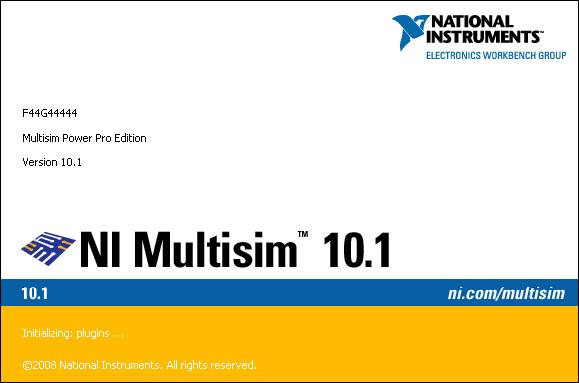Multisim 10.1 -- Student Edition 1-4