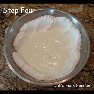 Sweet Art Factory Making Jill S Faux Fondant