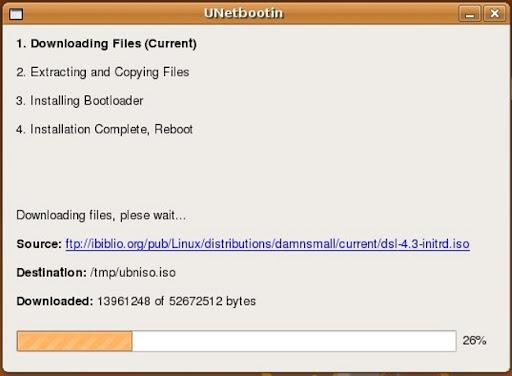 unetbootin linux installer