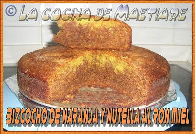 bizcocho de naranja y nutella al ron miel Bizcocho+de+naranja+y+nutella+al+ron+miel