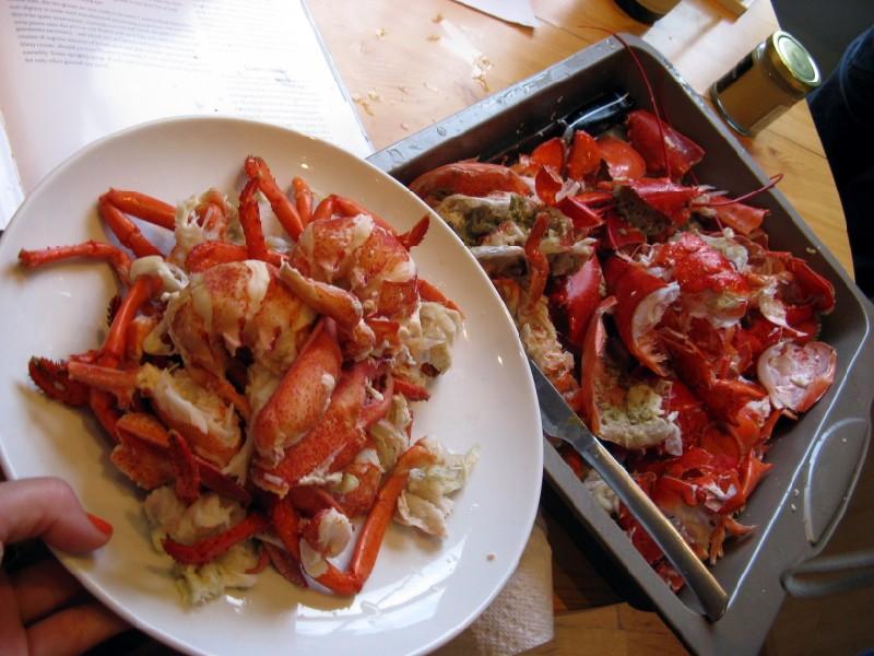 Lobster Bisque From Leftover Shells | Lobster House