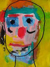 Retrato en tempera