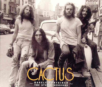 Cactus ~ 2004 ~ Barely Contained - The Studio Sessions