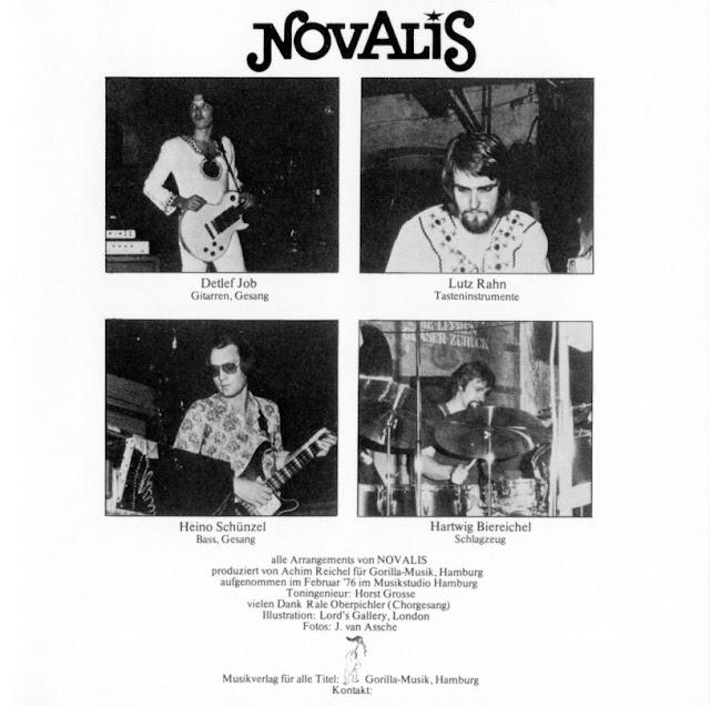 Novalis ~ 1976 ~ Sommerabend inner