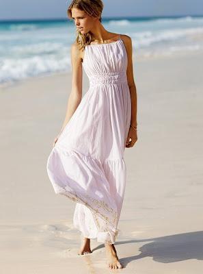 Light pink long summer dress. Sexy summer dress