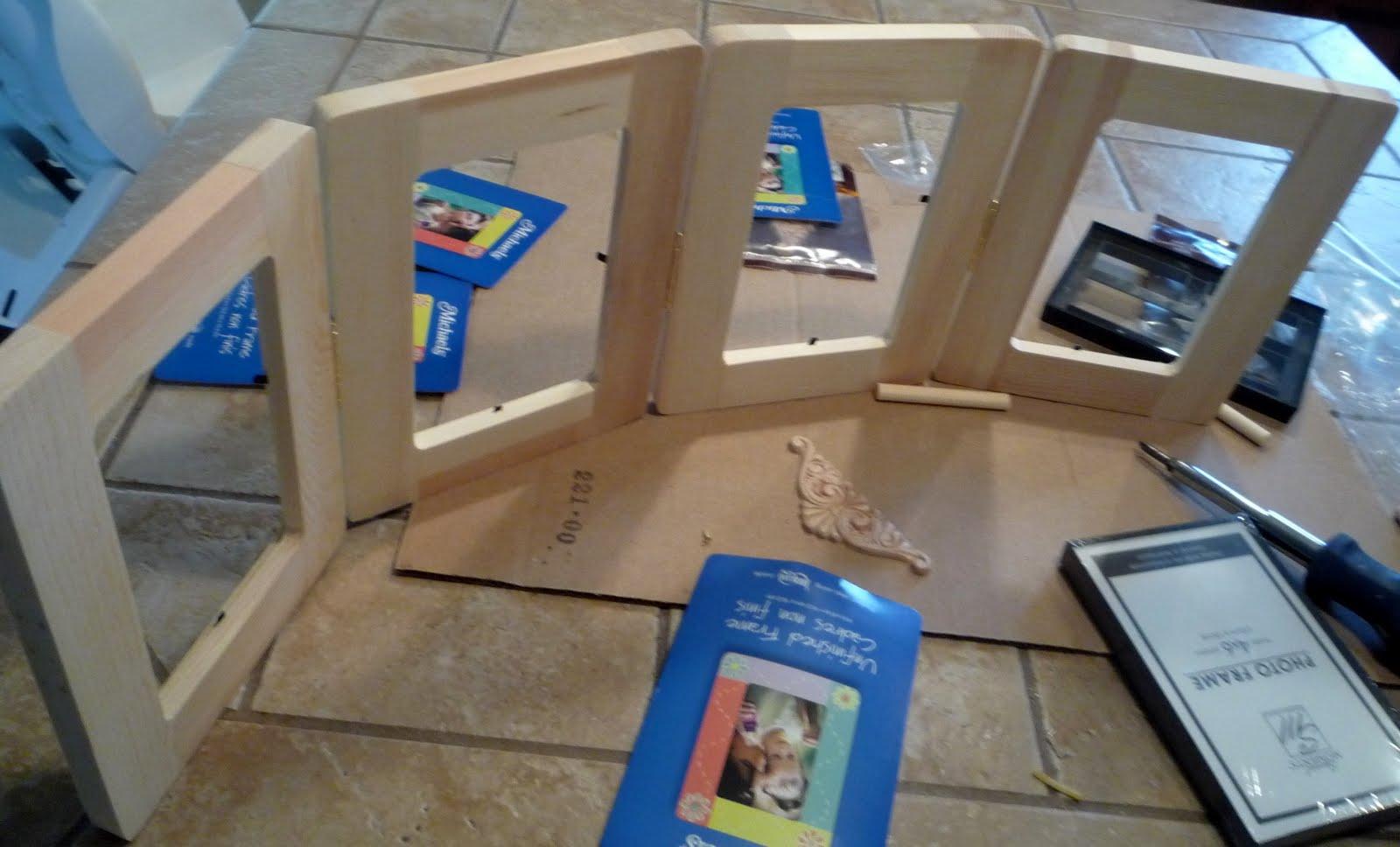 Crafty Sisters: Hinged Frames