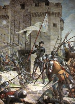 Raiz de Pensamentos: Joana d'Arc, a Donzela de Orléans...