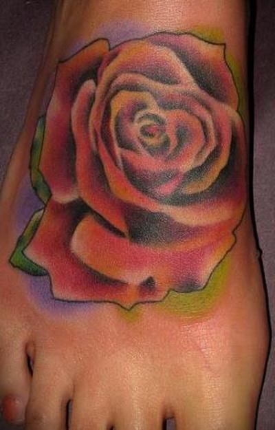 Red Rose tattoos. Rose tattoos