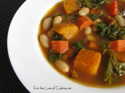 Interesting: Roasted Vegetable and Kale Soup and a Giveaway