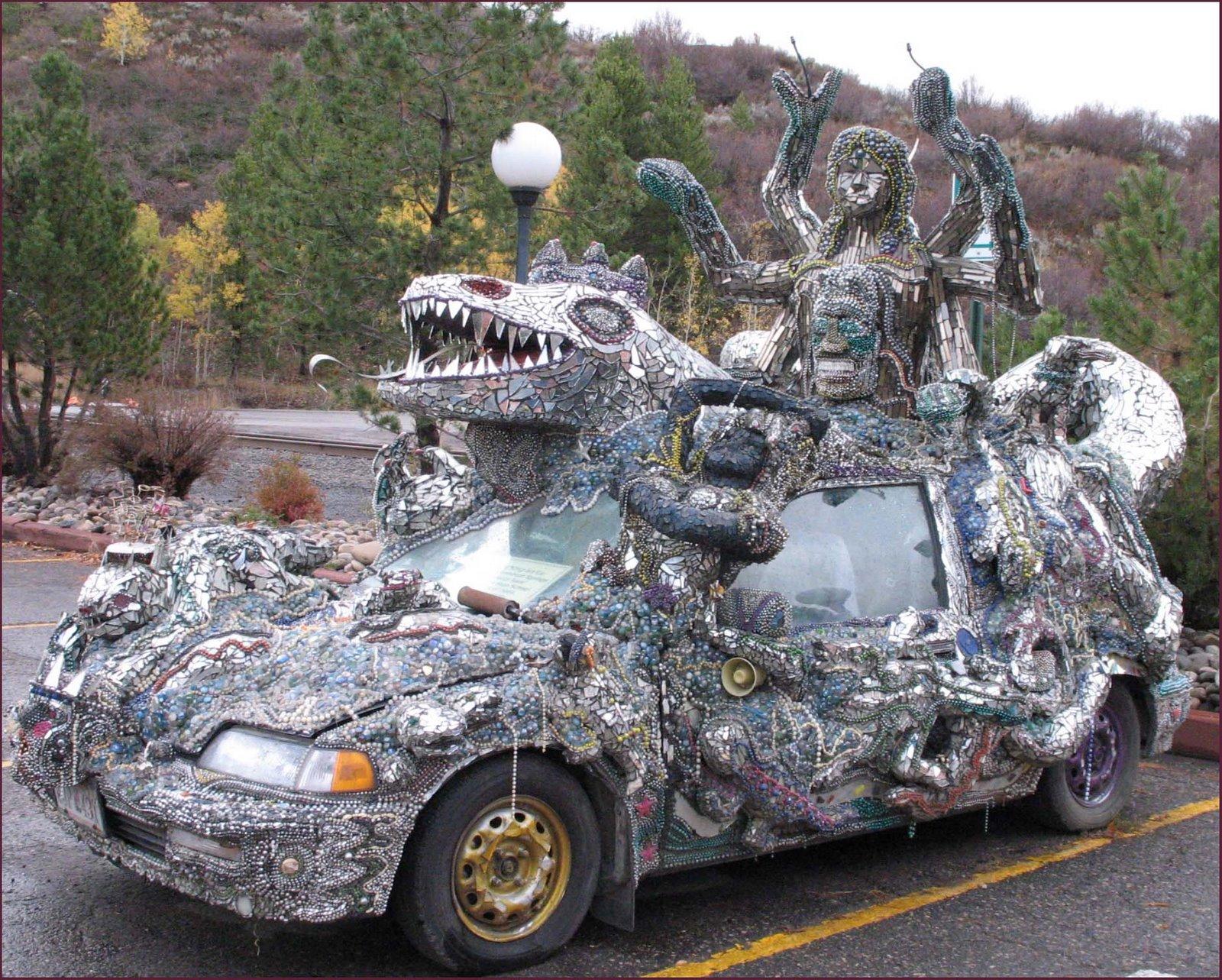 Crazy hondas the model the lizard king car