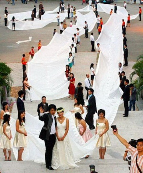 interesting crazy wedding dress