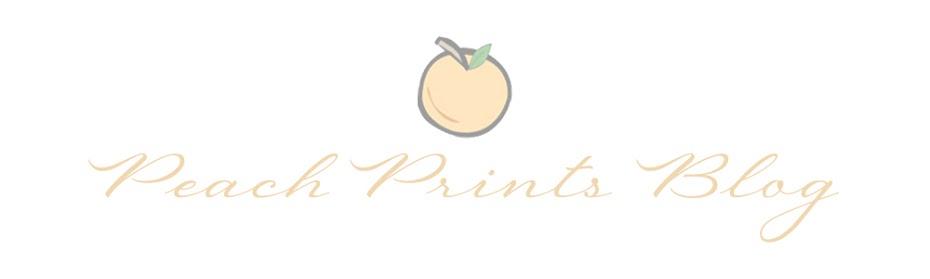Peach Prints