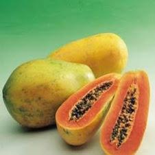 sarapan sehat dengan buah pepaya