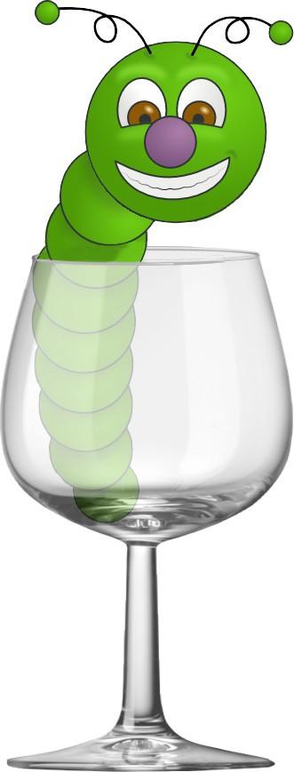 Miscellanea un ver vert dans un verre