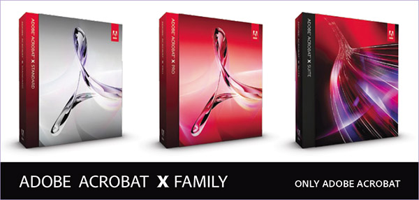 download acrobat x standard