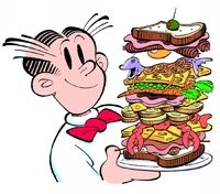 Dagwood Cartoons Character