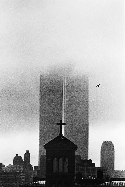 Twin Towers, New York. Photograph: André Kertész