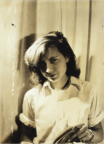 Patricia Highsmith, aged 21. Photograph: Rolf Tietgens