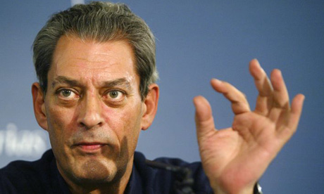 Paul Auster. Photograph: Rafa Rivas/AFP/Getty