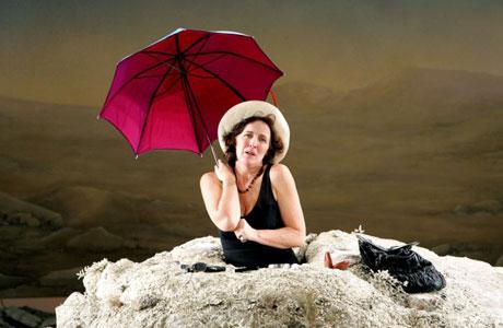 Fiona Shaw as Winnie in Samuel Beckett's 'Happy Days'