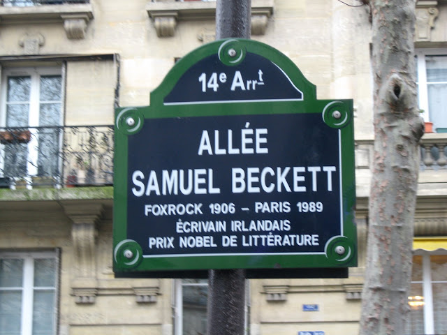 Allée Samuel Beckett, Paris. Photograph by Rhys Tranter