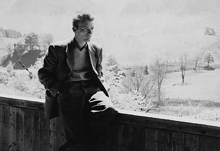 Thomas Bernhard as a young man