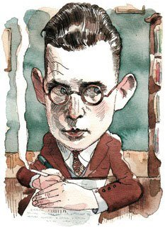 Samuel Beckett in the New Yorker. ILLUSTRATION: BARRY BLITT