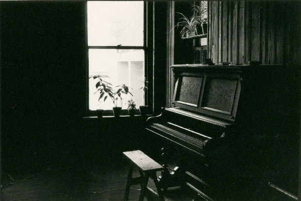 Piano - Duane Street Loft. Photograph by Rain Worthington.