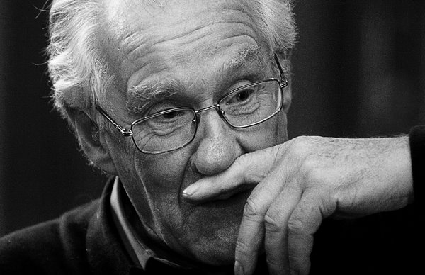 French philosopher Alain Badiou. Photograph by Voranc Vogel