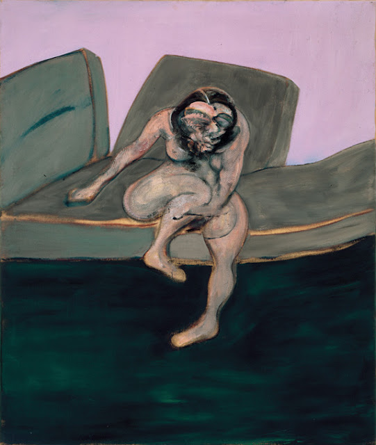 Francis Bacon, 'Seated Woman' (Portrait of Muriel Belcher) made in 1961.