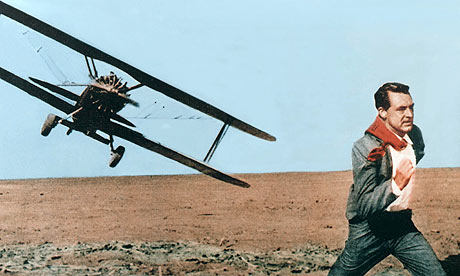 Cary Grant in North by Northwest. Photograph: Cinetext/Allstar