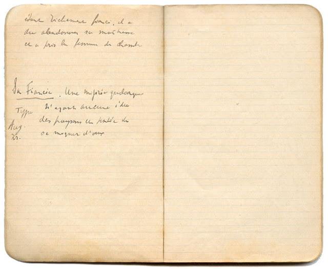 Samuel Beckett manuscript