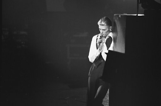 David Bowie as the Thin White Duke, 1976