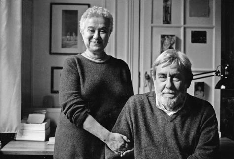Larissa Volokhonsky and Richard Pevear. Photograph: Brigitte Lacombe