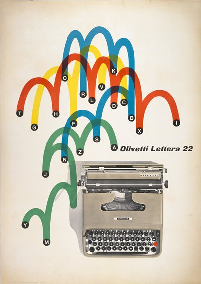 Giovanni Pintori, Poster, 1962