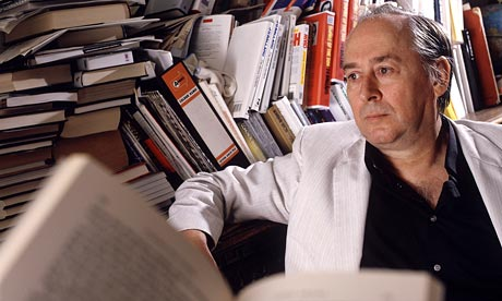 J.G. Ballard photographed at his home in Shepperton. Photograph: Martyn Goddard/Rex Features