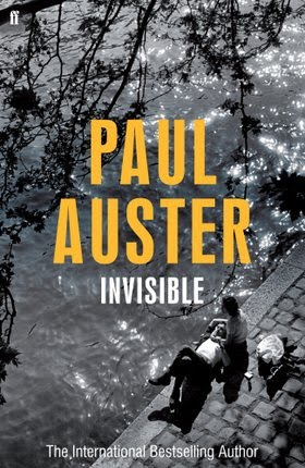 Paul Auster, Invisible. Published by Faber and Faber.