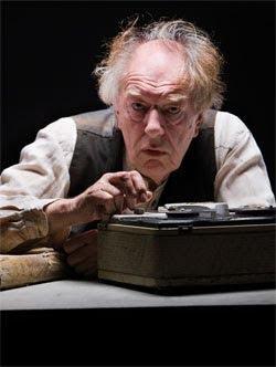 Michael Gambon in Samuel Beckett's 'Krapp's Last Tape'