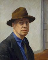 Edward Hopper, Autorretrato, 1925-1930