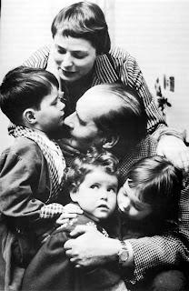 La familia Bergman Rossellini