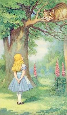 John Tenniel, Alicia y el gato de Cheshire
