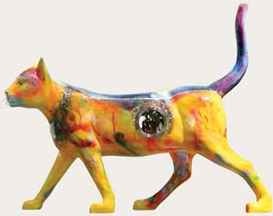 Fogata, la gata ganadora