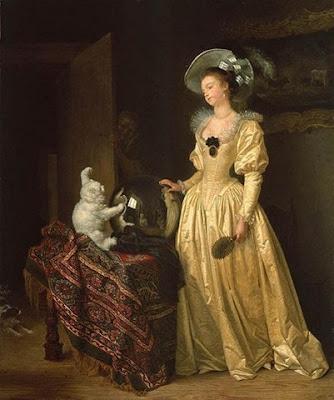 Fragonard_Le chat Angora