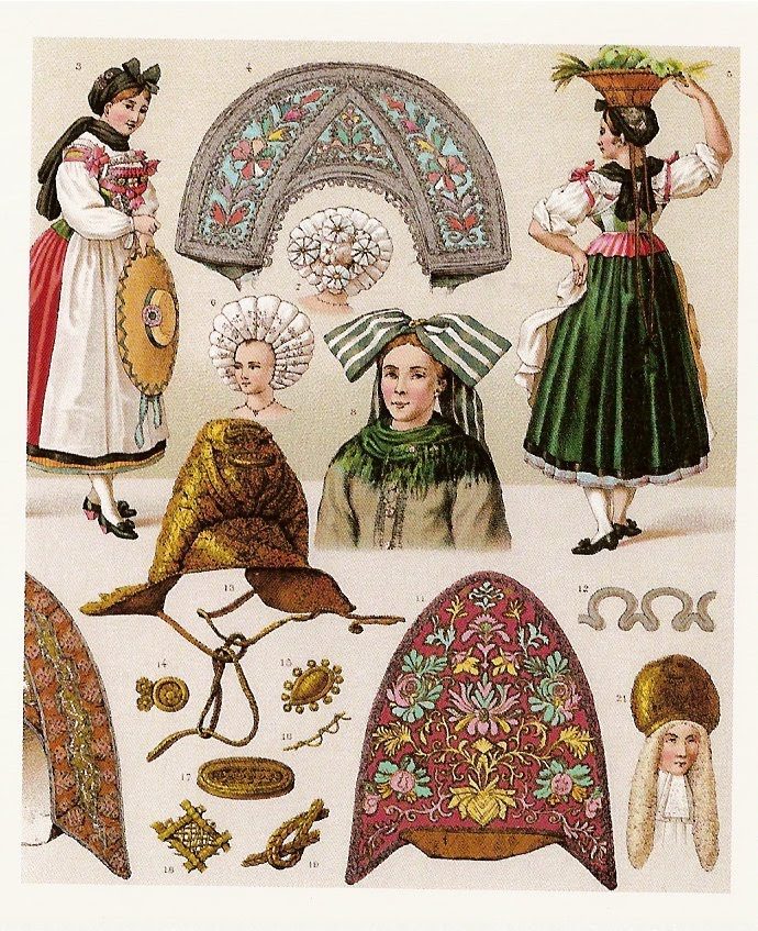 costumes  france  alsace