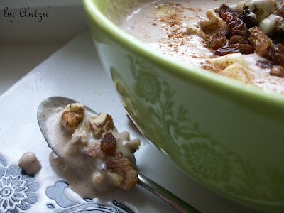 Articole culinare : Crema de banane cu lapte de canepa