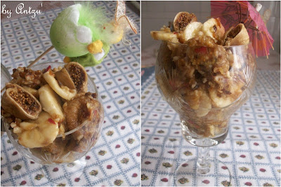 Articole culinare : Salata de fructe uscate cu banana