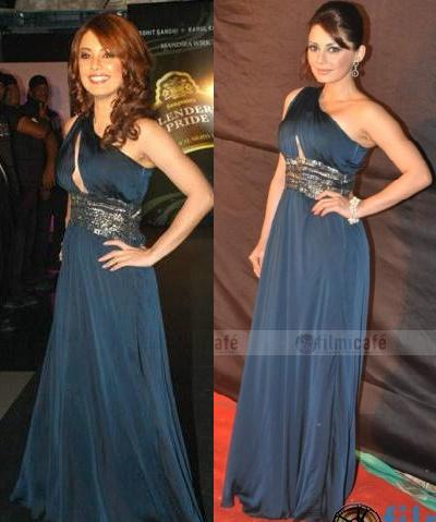 Minnisha Lamba 2010 Waves Concert Cue gown