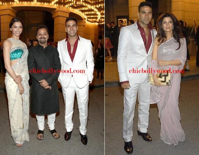 Akshay Kumar Twinkle Khanna Deepika Padukone Warner Bros Chandni Chowk to China Premiere Special Screening