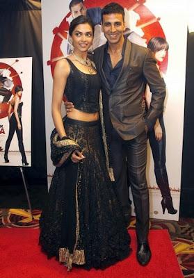 Deepika Padukone Akshay Kumar Chandni Chowk to China Toronto premiere